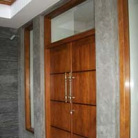 Wooden Double Door 01