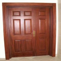 Wooden Double Doors