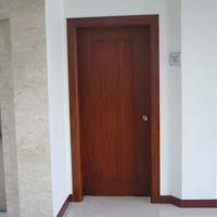 Mahogany Single Wooden Door 01