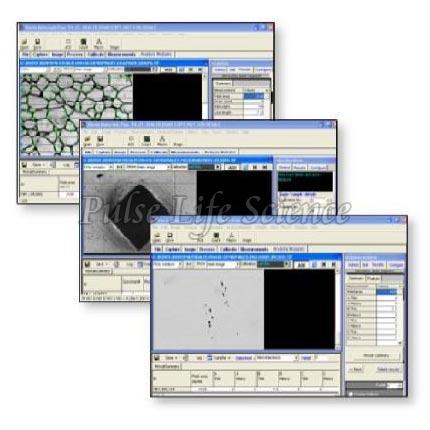 Metallurgical Image Analysis Software