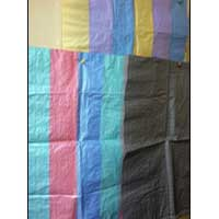 Different Coloured Strip Fabric
