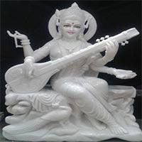 Saraswati Mata Statue 04