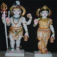 Shankar Parvati Statues 06