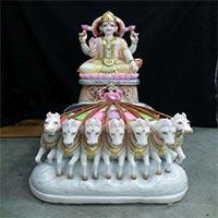 Surya Bhagwan Statue 02