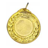 Plain Golden Medal