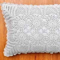 Crochet Rectagular Cushion Cover