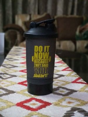 Double Compartment Gym Shaker 09