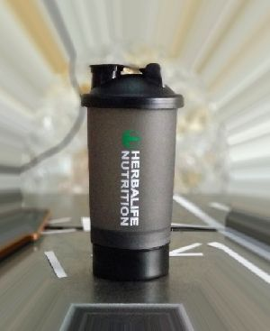 Double Compartment Gym Shaker 08