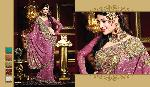 Onion Pink Indian Bridal Traditional Saree