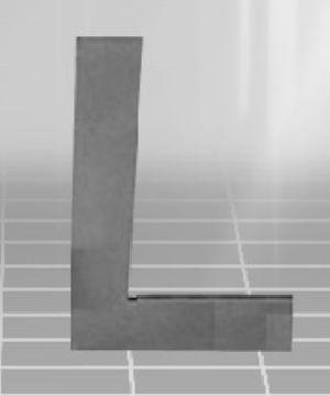 Flat Edge Tri Square