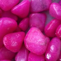 Pink Polished Pebbles