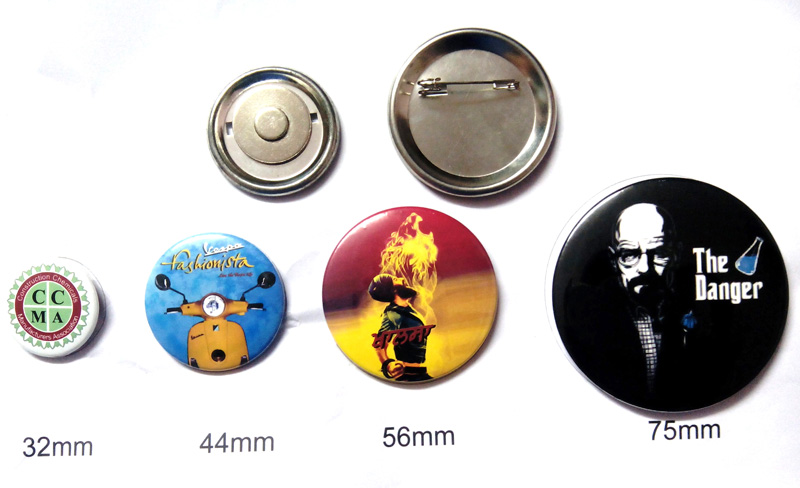 Button Badges All Sizes
