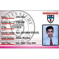 Pvc Student Id Card