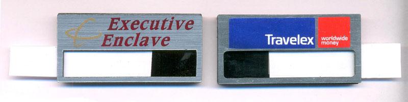 Reusable Name Badge Sample 01