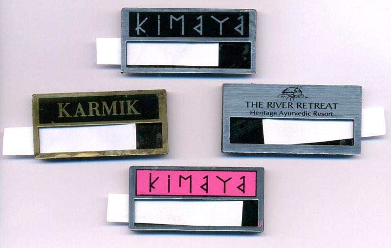 Reusable Name Badge Sample 02