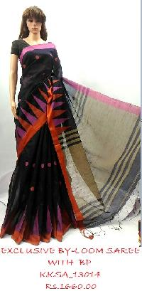 By-Loom Saree to suit