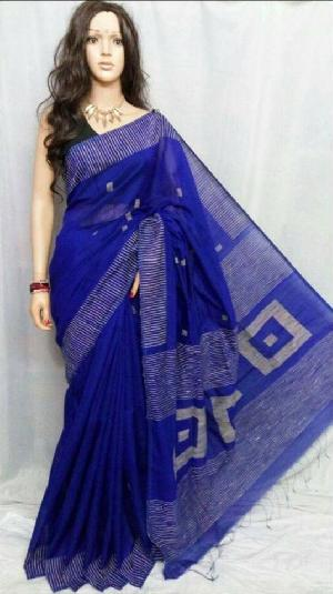 Exclusive Jamdani BOX design saree