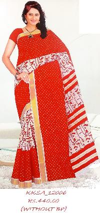 Petty Soft Cotton Saree