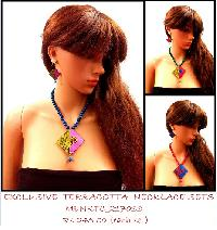 Women Terracotta Necklace Sets