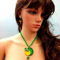 Wholesale Inexpensive Eco Friendly Terracotta Necklace sets