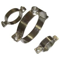 Stainless Steel Pipe Support Clamps