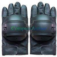 Leather Anti Riot Full Finger Gloves (CPS-FFG01)