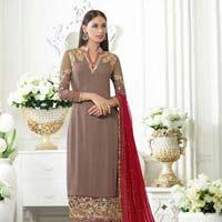 Ladies Georgette Semi Stitched Salwar Suit 03