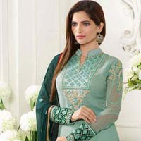 Ladies Georgette Semi Stitched Salwar Suit 06