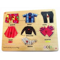 Cloth Knob Puzzle