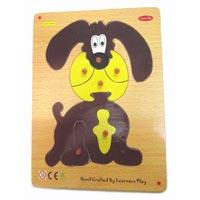 Cute Dog Knob Puzzle