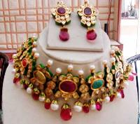 Kundan Necklace Set 12