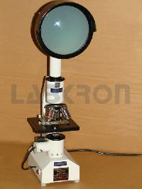 Simple Projection Microscope
