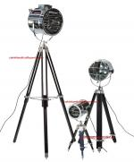 NAUTICAL TRIPOD LAMP  FOR STUDIO USED