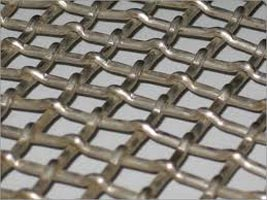 Flat Top Crimped Wire Mesh
