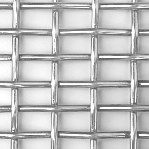 Rectangular Slot Crimped Wire Mesh