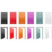 Galvanized Flush Doors