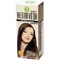 Hennaveda Dark Brown Hair Color