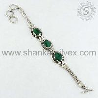 925 Sterling Silver Jewelry-brct1010-13