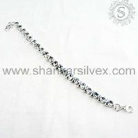 925 Sterling Silver Jewelry-brct1064-18