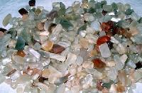 Moonstone Multicoloured Tumbled Polished Gemstones