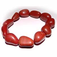 Red Jasper Stone Bracelet