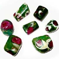 Ruby Fuschite Tumbled Polished Stones