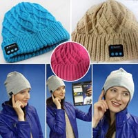 Bluetooth Music Hat with Mic