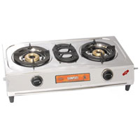 Double Burner L P Gas Stove