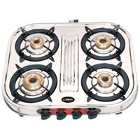 Four Burner L P Gas Stove