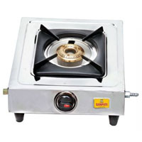 Single Burner L P Gas Stove