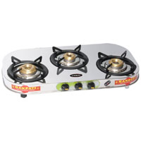 Triple Burner L P Gas Stove