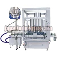 Fully Automatic Double Head Screw Capping Machine