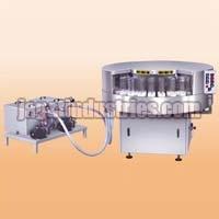 Semi Automatic Rotary Rinsing Machine
