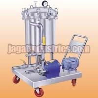 Semi Automatic Sparkler Filter Press